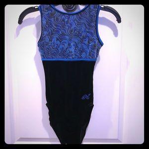 Alfa Factor Gymnastics leotard - velvet
